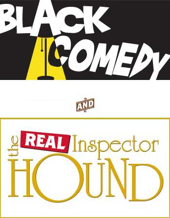 Black Comedy / The Real Inspector Hound