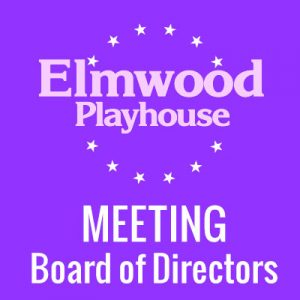 Elmwood Board Meeting @ Green Room