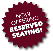 No Offering Reserved Seating