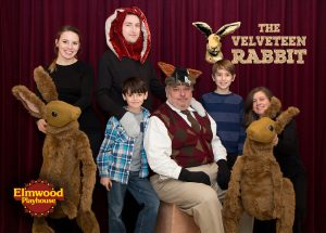 Photo caption: (From Left to Right) Jennilee Aromando (of Yorktown Heights, NY), Harry Leavey (of Nyack, NY), Tomer Ophir (of Tenafly, NJ), Marty Andreas (of Suffern, NY), Sawyer Ploski (of Nyack, NY), and Emma Laurence (of Ossining, NY). Rabbit puppets designed by Jennie Marino (of Tappan, NY).