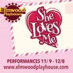 """She Loves Me"" To Open at Elmwood Playhouse in Nyack NY"