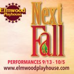 """Next Fall"" To Open at Elmwood Playhouse in Nyack NY"